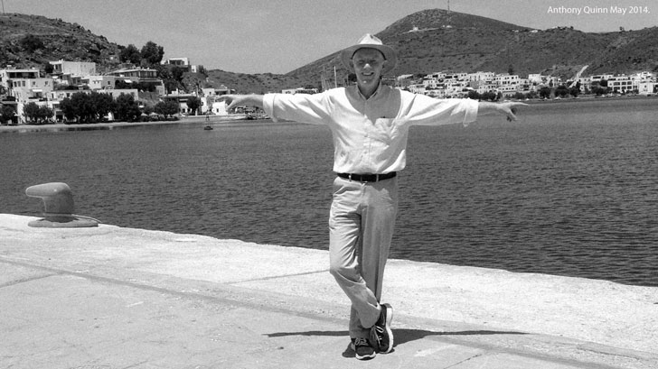 Anthony Quinn - Greece 2014