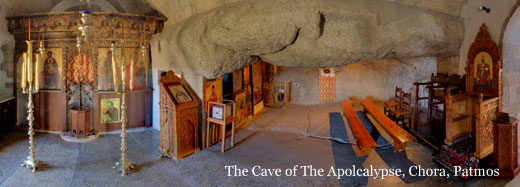 The Cave of the Apolcalypse, Patmos